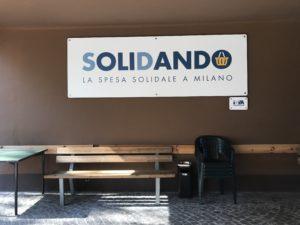 Il market solidale di don Mapelli a Milano. La 4LA del Virgilio ne informa